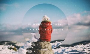 Winter gadgets to keep warm outside