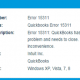 How to fix Quickbooks Error Code15311