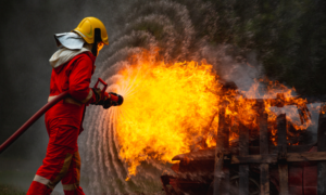 Flame-resistant fabric Materials for fireproof Garments