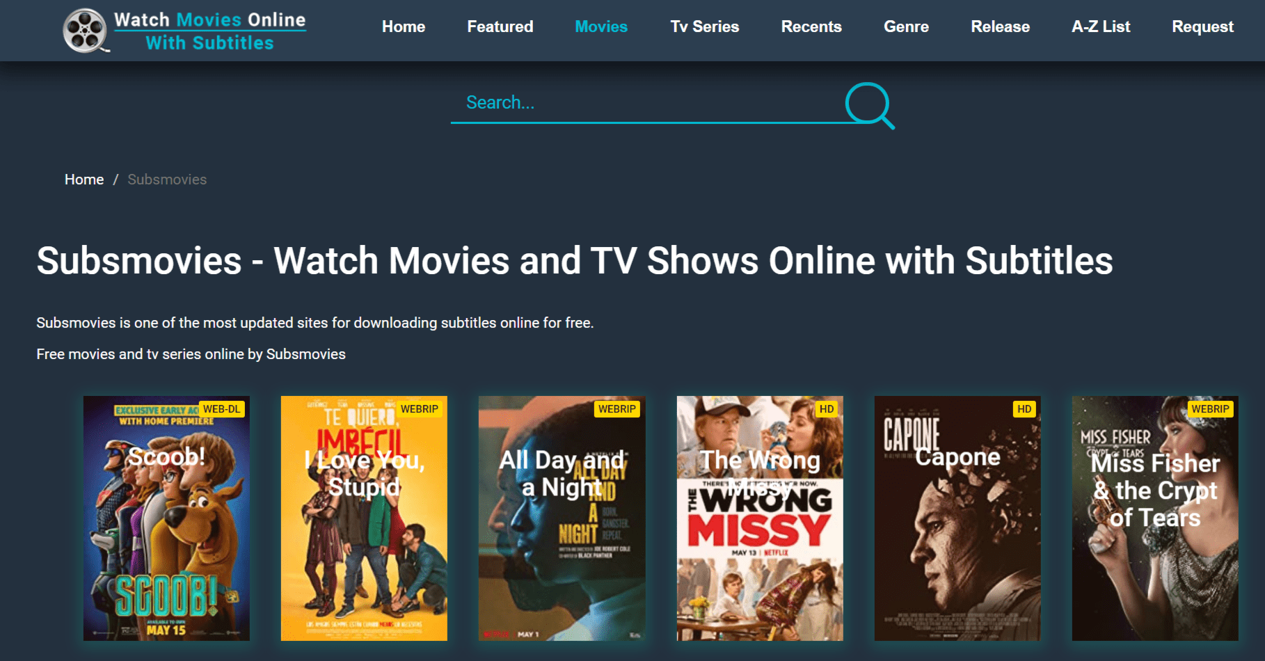 watch tv shows online with subtitles free